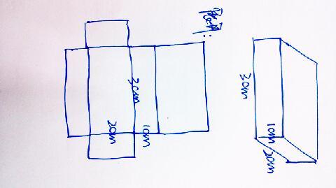 长方体的画 长方体展开图 长方体怎么画图片