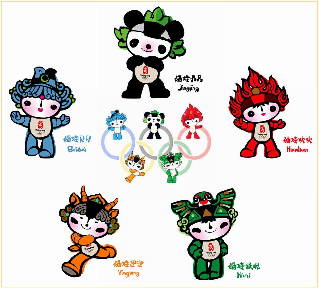 北京奥运会吉祥物是什么图片