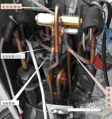空调四通阀在空调制冷系统中起着自动转换冷热的作用,它可以改变制冷图片