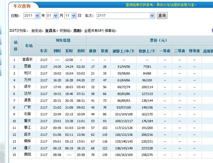 宜昌到重庆车票价_宜昌到重庆火车之宜万铁路