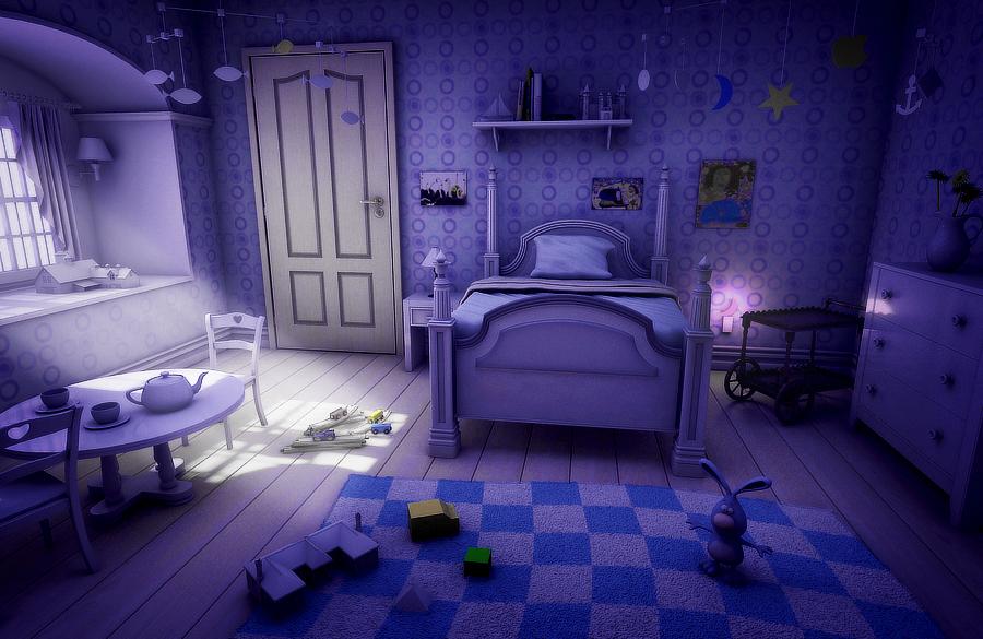 动漫房间图,无论是什么房间都可以,但是不要橙光的背景图,要高清