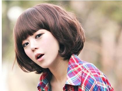 如果头较大的女生,适合什么发型?图片