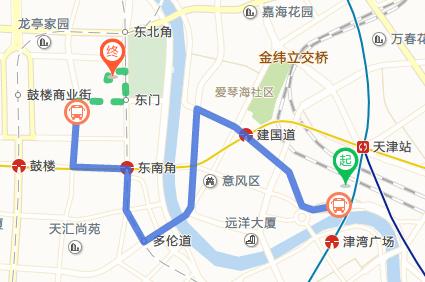 天津站到古文化街