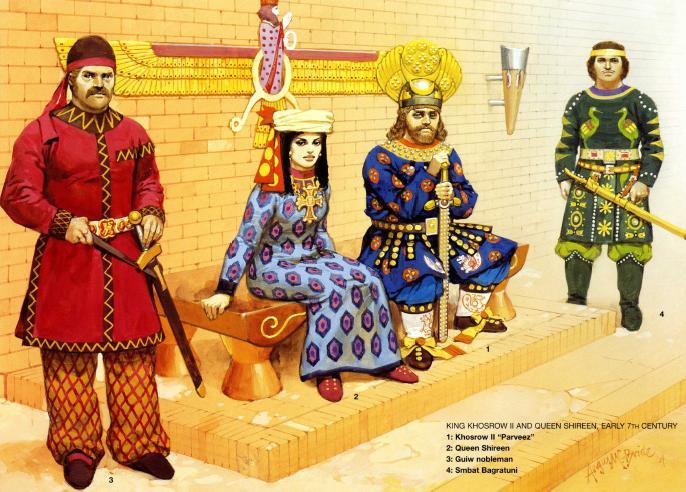 唐代波斯人的服装什么样子图片
