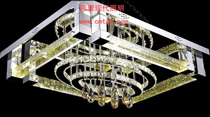 欧普平板水晶灯j1573图片
