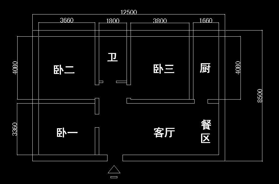 农村房子求一个设计图,两铺火炕,一个卧室床 ,一个客厅,一个厨房,一个图片