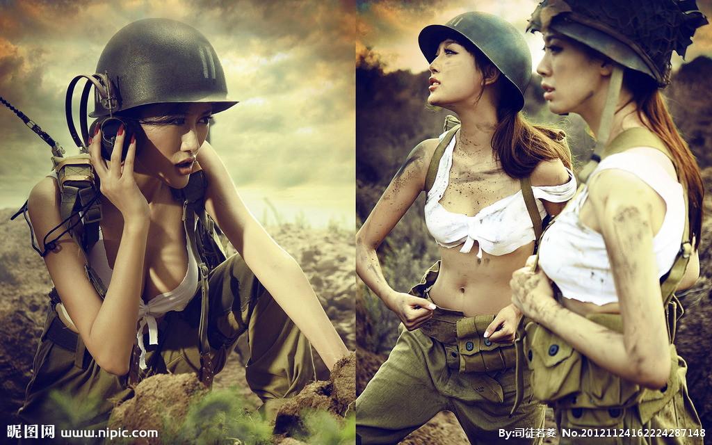 二战风云美女代言
