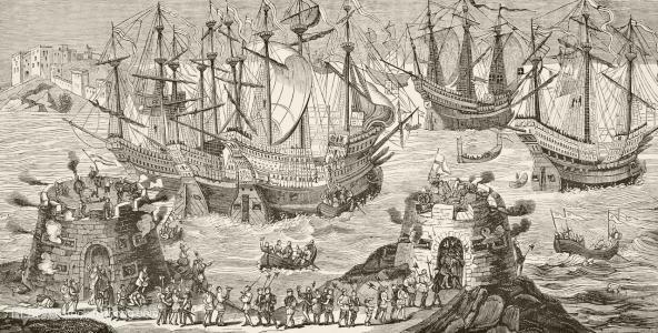 为什么中世纪欧洲发展得异常缓慢?图片