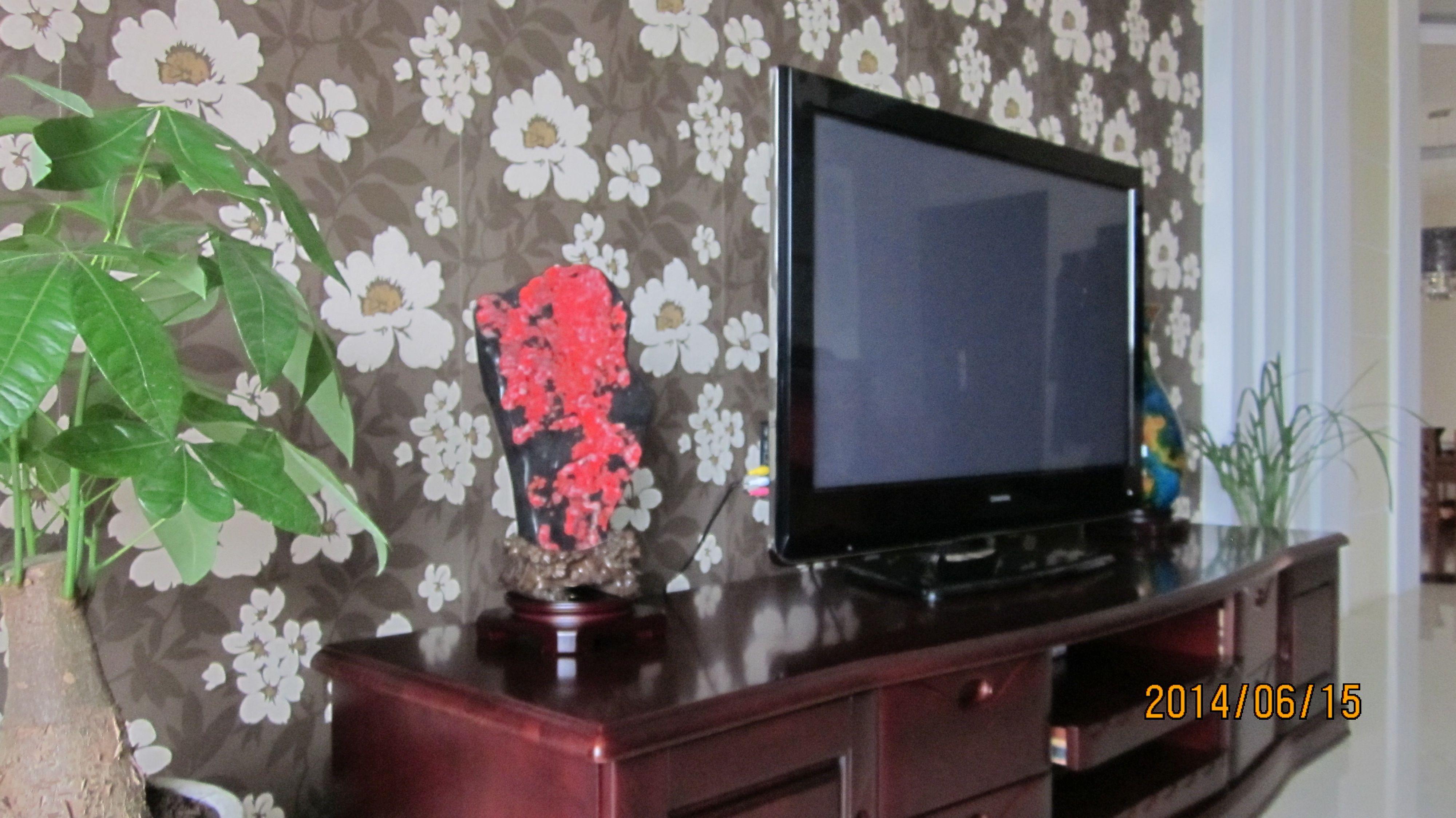 中式电视柜摆什么摆件好看图片