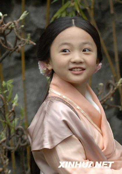 林妙可在新版红楼梦里第几集里饰演童年林黛玉图片