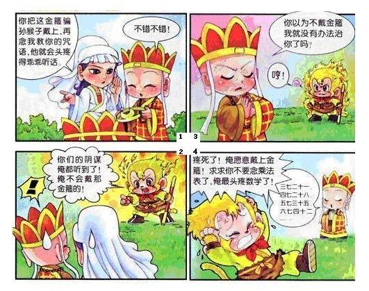 西游记格漫画_
