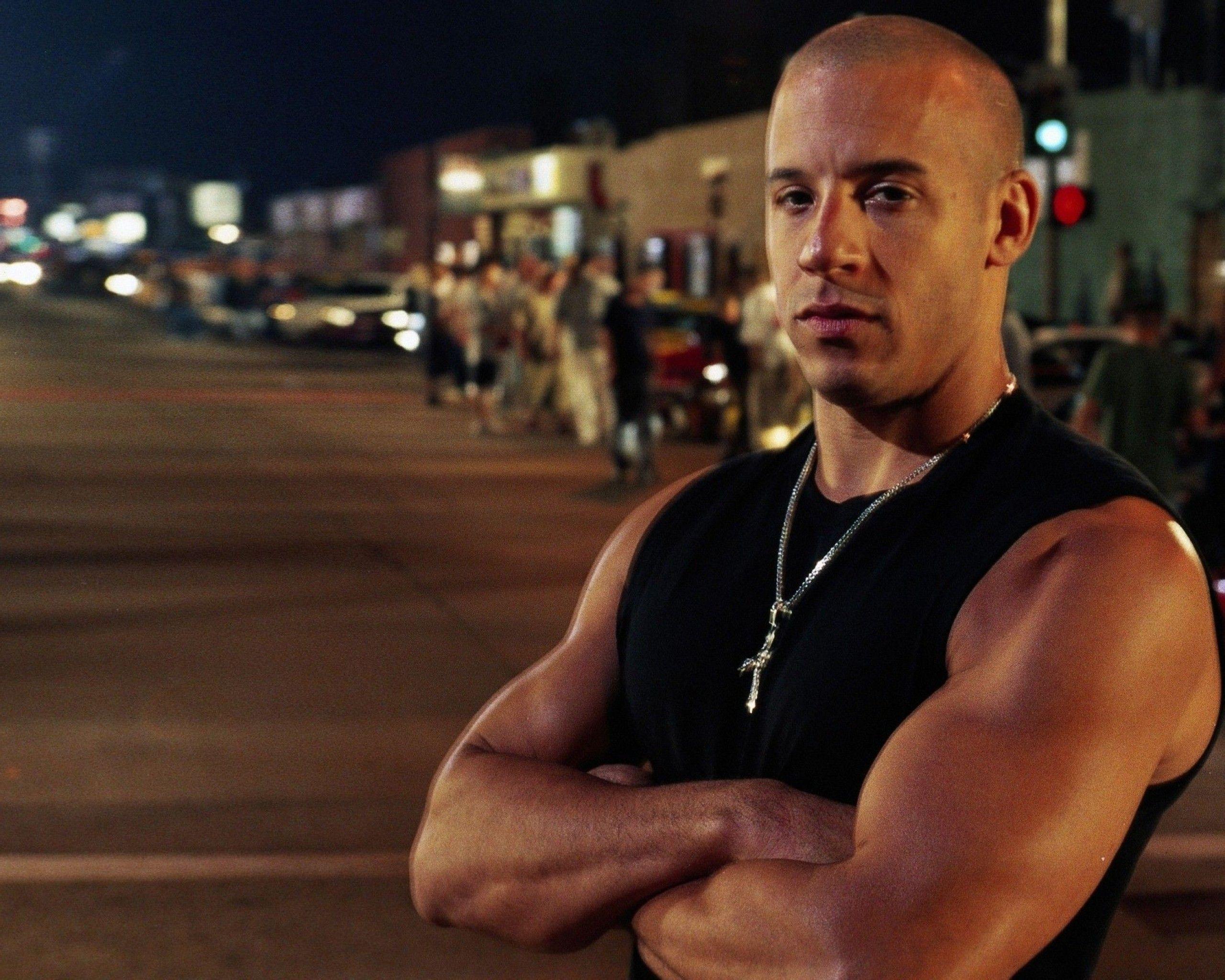 Vin Diesel Muscles 2012