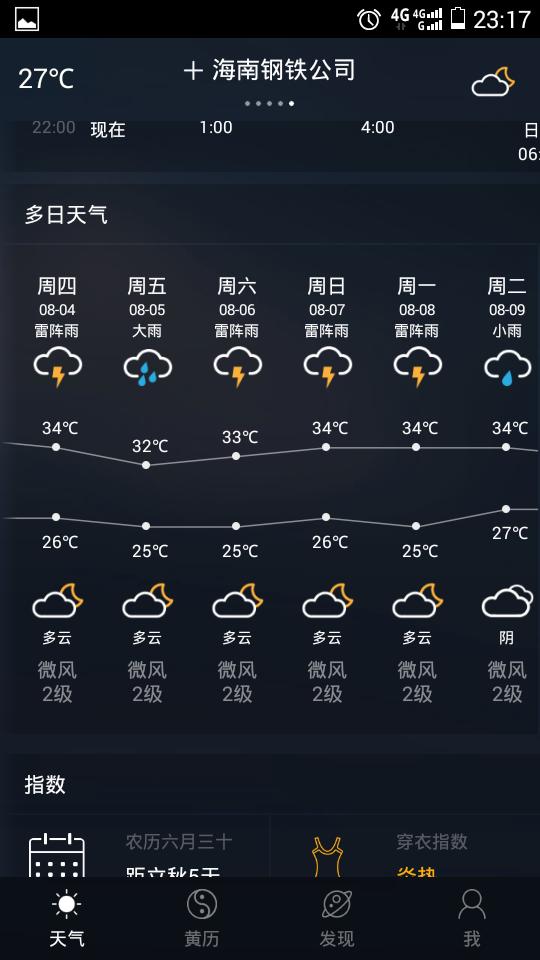 海南十月份气温