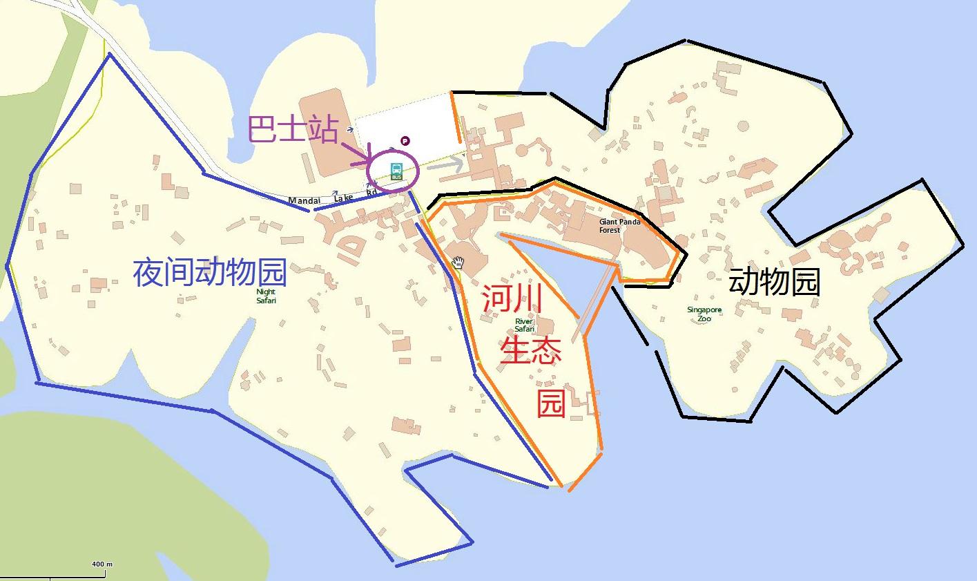 新加坡日间动物园位置