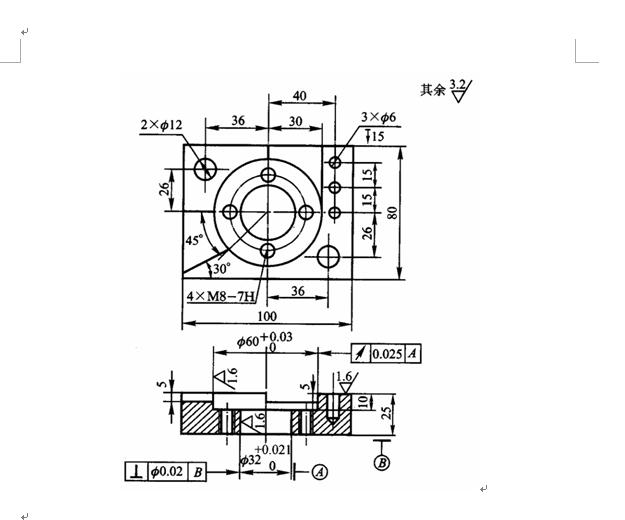 机械设计零件图图片