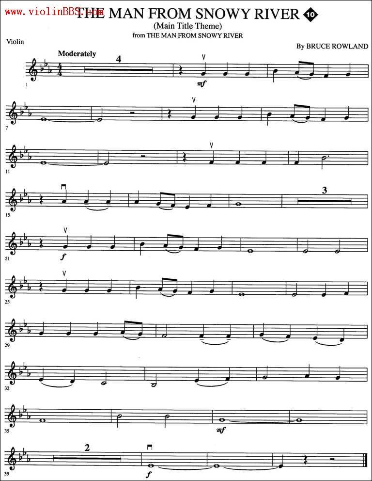 小提琴我心永恒的谱子图片
