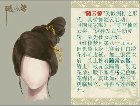 古装发髻的编,清朝发髻怎么梳,古代发髻怎么梳高清图片