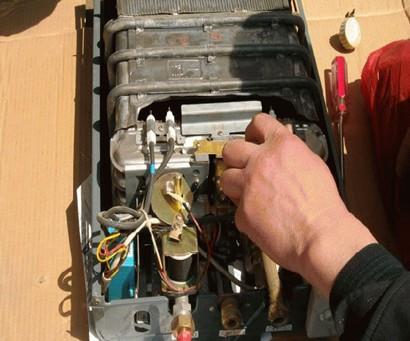 万和燃气热水器的问题.图片