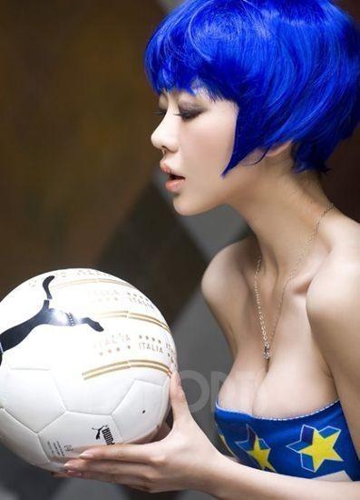 qq群热图 足球美女