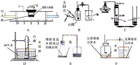 """空气中燃烧不仅与氧气反应,还与氮气和二氧化碳反应"""";(2)""""引火铁""""(极图片"""