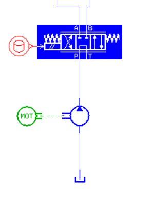 amesim液压元件方面连接过程中,怎么样在连接线上设置图片