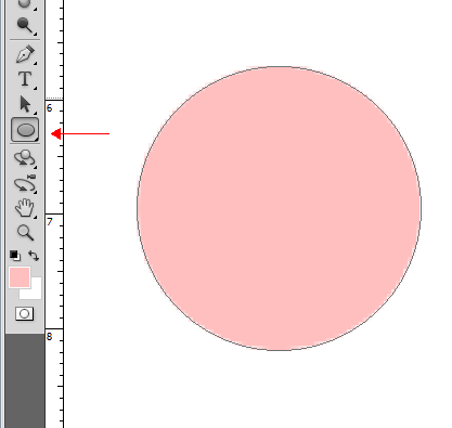 toshop画圆会自动填充颜色修改步 再选择圆形选区工具,其他类