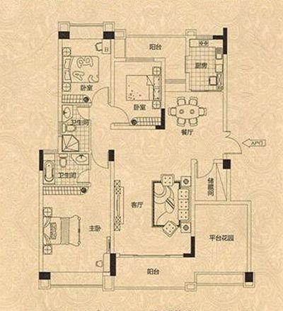 81平方房屋装修设计图 35 2009-09-18 房屋装修设计图 如何制作?图片