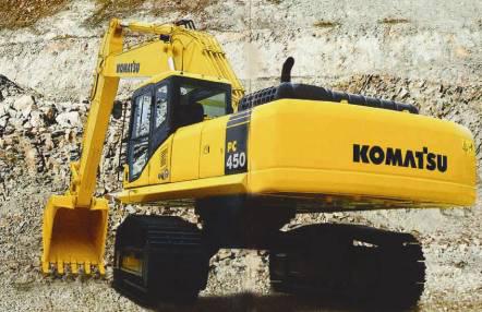小松挖掘机450