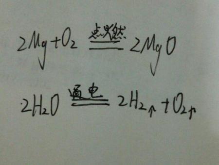 给下列多��ke_用化学方程式解释下列事实:⑴胃酸过多的病人,医生常给他服用含