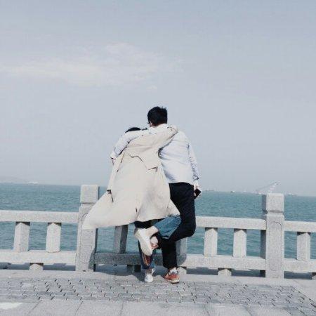 情侣头像背影图片