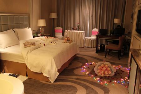 宾馆房间过生日怎么布置的有没有图片图片