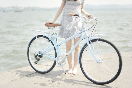 躺骑自行车 儿童骑自行车简笔画 学骑自行车图片