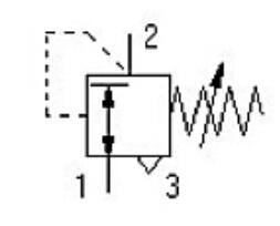 减压阀图形符号