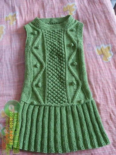 毛衣编织_钩针编织花样图解儿童毛衣编织图案手工毛衣