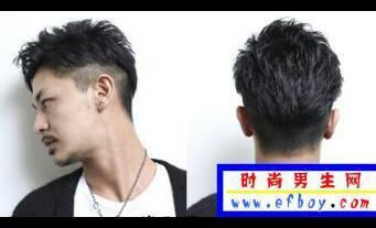 本人长脸男适合剪什么样的短发,两边剪短或铲掉的话可以剪什么发型?图片