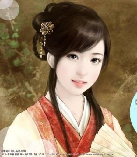 中国古代四大美女真人图片图片