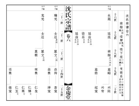 谁有indesign编排族谱的模板图片