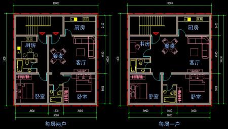 求房屋平面设计图图片