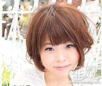 国字脸女生适合什么发型,要搭配什么颜色好看?图片