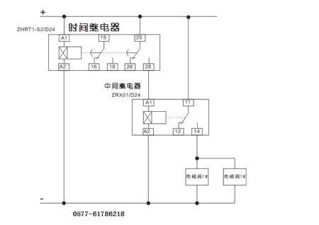 中间继电器控制电磁阀和电机接线图 35 2011-07-04 plc怎样通过中间图片