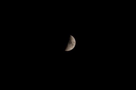 而初七的月亮不圆图片