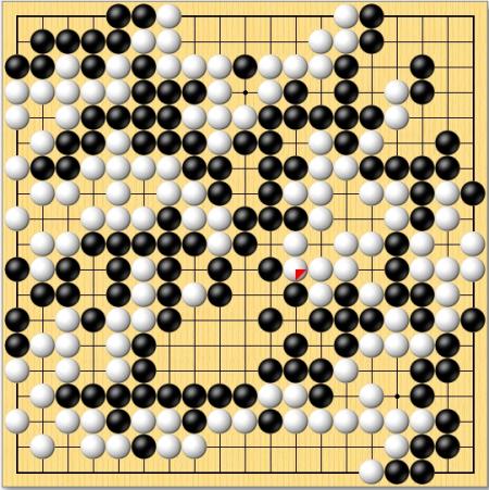 三子棋必胜方法图-好吧,我把全局发上来了,我只想知道右侧黑棋怎么算,单单是说不实图片