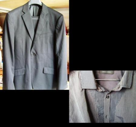 男士黑色西装 衬衫 领带 搭配问题