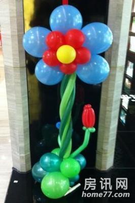 圆气球花样扎法图片打图片