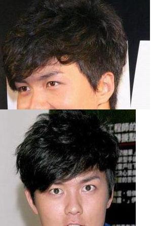 头发硬的男生适合什么发型图片