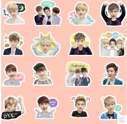 exo line 表情包图片