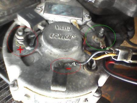 图片素材   汽车点火线圈的工作原理   求汽车发电机机 接线 高清图片