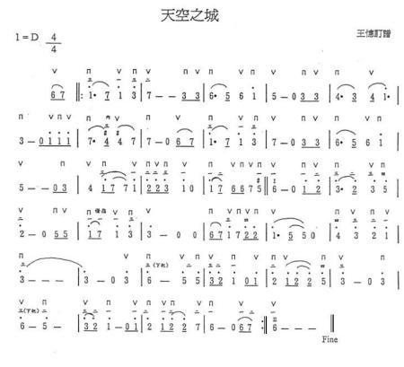 根据《天空之城》的特点和音乐意境,用布鲁斯口琴最好,用半音阶口琴图片