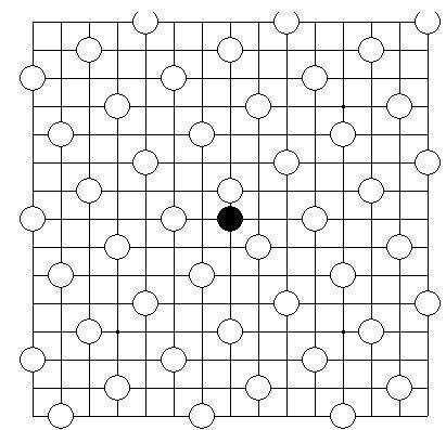 五子棋,八卦阵怎么摆的图片