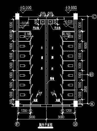 公厕设计平面图; 家卫生间设计平面图; 移动公厕平面图相关图片下载; 图片